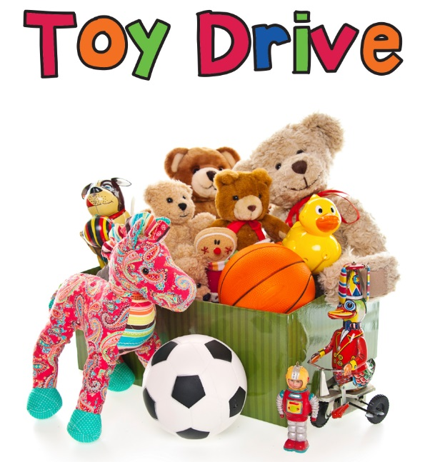 Toy drive blog banner