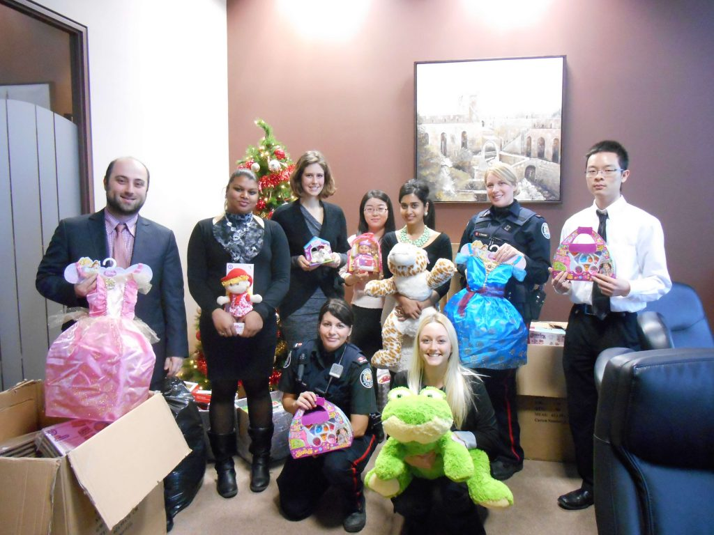 shulmans 2014 toy drive family law toronto