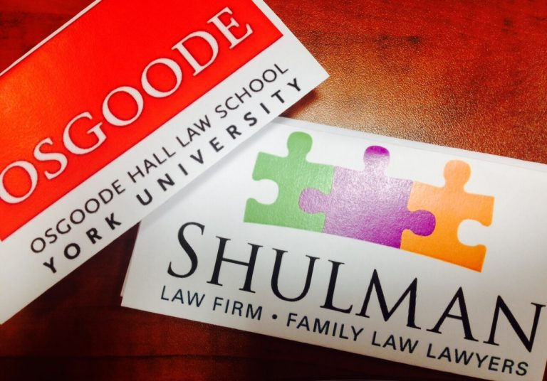 teaming up with osgoode hall law school family law toronto
