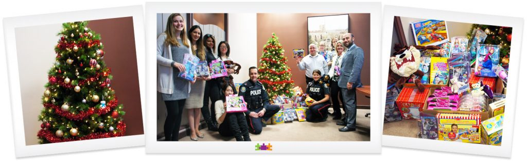 holiday toy drive 2015 family law toronto