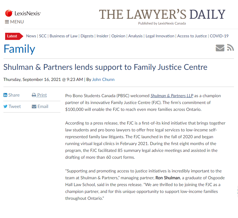 Family Justice Centre